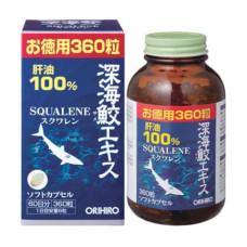Акулий Сквален -SQUALENE ORIHIRO (390 кап на 65 дней)