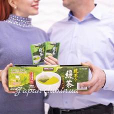 Японский зеленый чай в шелковых пакетиках Matcha-iri ryokucha Itoh En, Kirkland, 100 шт.