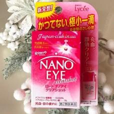 Nano Eye Clearshot ROHTO Нанокапли - Чистый взгляд (6 мл)
