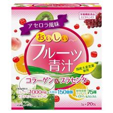 Аодзиру фруктовоовощной  с коллагеном, плацентой и молочнокислыми бактериями (20 стиков)